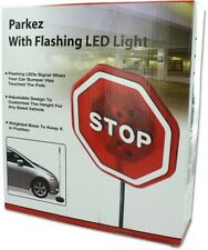PARKEZ Flashing LED Light Parking Stop Sign For Garage, New, Free Shipping