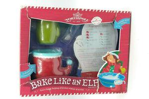 Northpole Bake Like an Elf Baking Kit and 5 Recipes Cards Hallmark New Free Ship