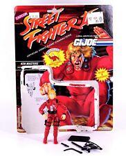 Gi Joe Street Fighter KEN MASTERS Action Figure Hasbro Cobra 3 3/4 T2