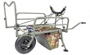 PRESTIGE CARP PORTER  NEW DPM/CAMO 2021 MK2 CARP PORTER WITH DROP IN BAG  WITH B