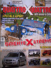 Quattro X Quattro Off-Road & SUV n°8 2010 Suzuki Grand Vitara Toyota Hilux [P38]