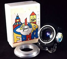 Janpol Color P. 5.6/80mm PZO Lens M42 4 filters. WZFO.
