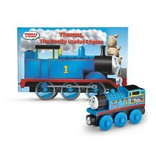Thomas & Friends™ Wooden Railway the Really Useful Engine Book Tidmouth Train 1