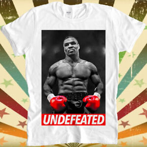 Iron Mike Tyson Boxing Undefeated Hall of Fame Cool Unisex Retro T Shirt 2415