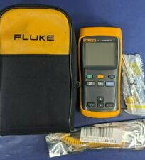 Fluke 51 Ii Thermometer Excellent Screen Protector Case Accessories More