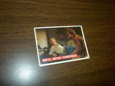 DAVY CROCKETT card #61 Topps 1956 Orange back WALT DISNEY movie FESS PARKER