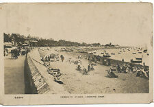 PC17301 Exmouth Beach. Looking East. RP. 1922