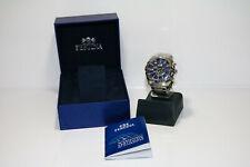 Festina F16488 Armband Uhr Chronograph Sport Edelstahl Schwarz Blau | OVP