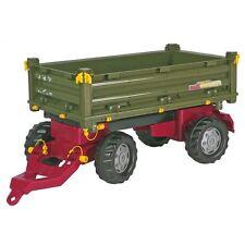 Rolly Toys Mulit-Trailer Anhänger Kipper Dreiseitenkipper grün