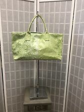 Falor Woman Bag Genuine Leather Made In Italy Green Lemon