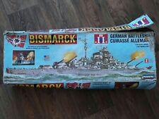 Lindberg model kit 1/350 Bismarck (read listing)