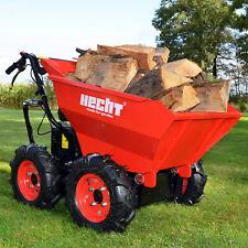 Hecht 2636 300kg. Nutzlast Motorschubkarre - Rot