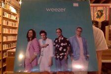 Weezer s/t LP sealed vinyl Teal Album