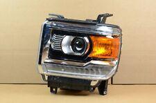Mint! 14-19 GMC Sierra 1500 2500 3500 Left Driver LH Halogen LED Headlight OEM