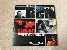 UB40 Twenty Four Seven CD (Mail On Sunday Promotion)