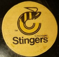 Cincinnati stingers vintage WHA VICEROY GAME PUCK made in canada RARE OLD BEAUTY