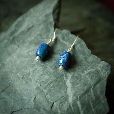 Stone Dangle Earrings Jewelry for Bema Lapis