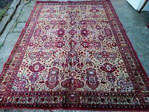 Vintage Area Rug Wool 198x248