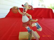 Slapsticks Clown Figurines by Cast Art  Basket Case 1997 Handpainted