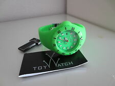 TOY Watch Jelly discoteca only time GREEN OROLOGIO TOYWATCH TOY WATCH OROLOGI Neon Nuovo