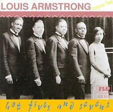 LOUIS ARMSTRONG - HOT FIVES & HOT SEVENS, VOL. 2 [JSP] NEW CD