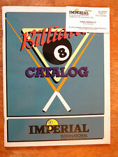 1994 IMPERIAL INTERNATIONAL CATALOG BILLIARDS POOL SUPPLIES CUES DARTS TABLES