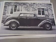 1937 FORD PHAETON SIDE VIEW TOP UP.  12 X 18 LARGE PICTURE   PHOTO