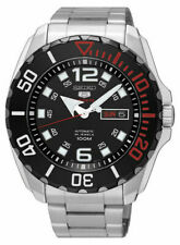 MENS BRAND NEW SEIKO BABY MONSTER AUTOMATIC 5 SPORTS WATCH SRPB35K1 RRP £250