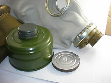 Size - 1. Small Soviet Russian Military Gas mask GP-5. Grey rubber. Full set