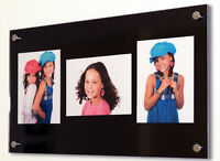 """Cheshire Acrylic 6x8"""" multi picture photo frame 8 x 6"""" / A5 / 20x15 cm all color"""