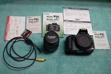 Canon EOS Digital Rebel XTi / EOS 400D 10.1MP Digital SLR Camera - VERY GOOD