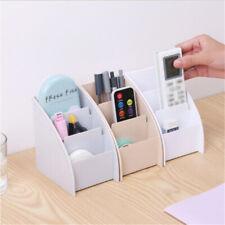 Trapezoid Desk Decor Remote Control Holder Storage Box Mobile Phone Shelf Racks