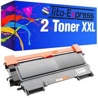 Sparset 2 Toner XL ProSerie für Brother HL-2130 DCP-7055 DCP-7057 TN2010 TN-2010