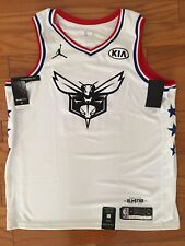 $120 NEW Mens Nike Kemba Walker All Star Jersey White BV3574 XL (52) Basketball