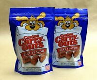 Canine Carry Outs Dog Treats Snacks Beef Flavor USA 5 oz. Lot of 2