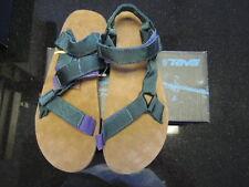 TEVA Size 9 Men's Jasper Green Universal Original Backpack Suede Feel Soles