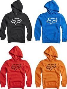 Fox Racing Youth Legacy Pullover Hoodie - Sweatshirt Hoody Fleece Boys Motocross