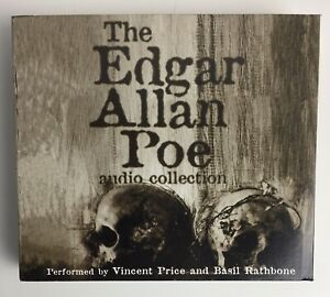 The Edgar Allan Poe Audio Collection Unabridged Vincent Price 6 Hours 5 CD's