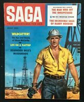 SAGA Magazine - July 1958 - Pulp / Adventure / Men's Interest