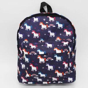 Unicorn Bag Fantasy Cartoon Backpack Student Boy Girl