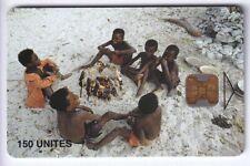 AFRIQUE TELECARTE / PHONECARD .. MADAGASCAR 150U OB2 FEU POISSON 8N°N CHIP/PUCE