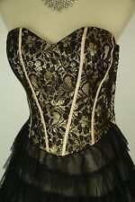 Masquerade Black $100 Evening Prom Formal Cruise Short Homecoming Dress size 9