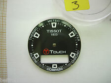Dial cadran montre chrono TISSOT TOUCH 1853 - 28 mm Zifferblatt 錶盤 Watch 3