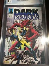 Dark Dominion #1 PGX 9.4+ Certified Graded Autographed #'d COA not CGC Defiant