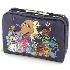 Sesame Street × LeSportsac Makeup Xl Extra Large Rectangular Cosmetic Bag Pouch
