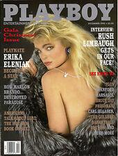 PLAYBOY DECEMBER 1993-C - ARLENE BAXTER - ERIKA ELENIAK NUDE !