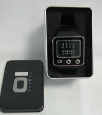 The One TV102B1 Men's TV Binary Time LED Watch - 3 ATM WR - wie neu