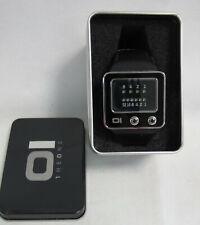The One tv102b1 Men's TV binary time led Watch - 3 ATM WR-como nuevo