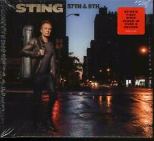 STING - 57TH & 9TH - CD - 602557174496