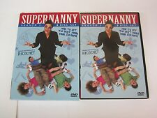 SUPERNANNY Season 1 ABC TV Reality  - JO FROST - (2005, DVD) RARE OOP